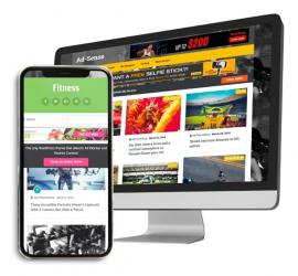 Adsense Tema Wordpress Para Blog Voltado P/ Anúncios