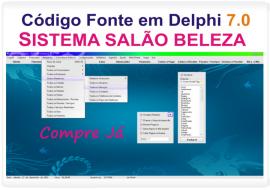 C�digo Fonte Em Delphi Sistema Sal�o De Beleza + Agenda