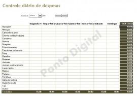 Planilha Excel Info - Controle Di�rio De Despesas