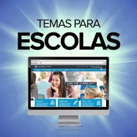 20 Temas Sites Para Escolas Col�gios Cursos - Wordpress