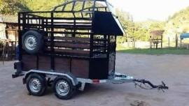 Projeto Carretinha Reboque Para 2 Cavalos + Brindes