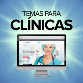 18 Temas E Sites Clínicas E Consultórios Médicos - Wordpress