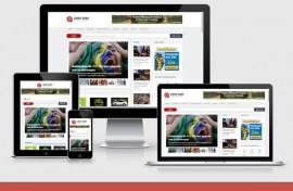 Portal De Noticias Responsivo Script Php Wordpress Pt