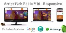 Script Web Rádio - Modelo V-10 - Lançamento Exclusivo