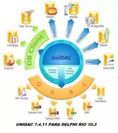 Unidac 7.4.11 Completo Para Delphi Rio 10.3
