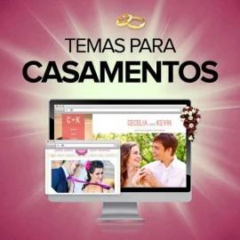 20 Temas Sites Para Casamentos E Namorados - Wordpress