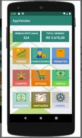 Código Fonte Sistema De Vendas Android Java + Banco De Dados