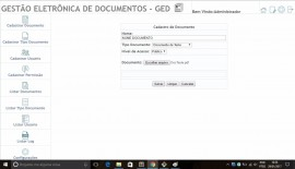 Sistema Gerenciador De Documetos - Ged - Php + Mysql