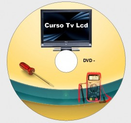 Curso Tv Lcd + Uso Do Oscilosc�pio + T�cnicas Smd 5 Dvds