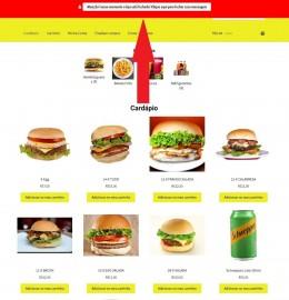 Site Para Pizzaria Restaurantes E Lanchonetes Pedidos Online