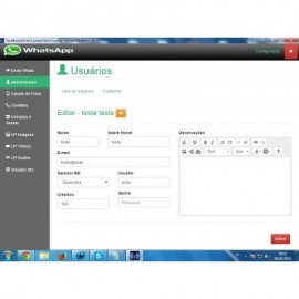 Script Php Sistema Whatsapp Marketing