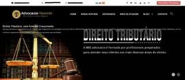 Script Site Advogado Black