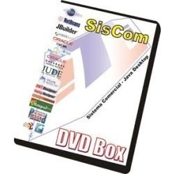 Curso Sistema Comercial Java Desktop 3 Dvds