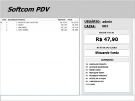 Código-Fonte Softcom Dara + PDV não-fiscal em Delphi XE