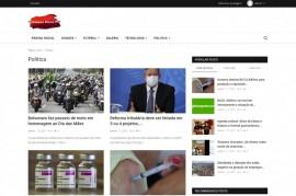 Portal De Notícias Script Site Php Responsivo Admin