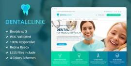 Template Html Para Dentista E Saúde Médica