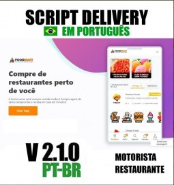 Sistema Delivery Pedidos Online Tipo Ifood Script Php Fonte