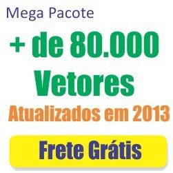 Pacote 80.000 Vetores Editáveis Corel Draw - Frete Grátis