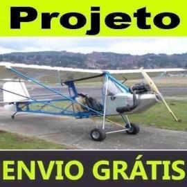 Projeto Construção Avião Affordaplane Ultraleve Monoplano