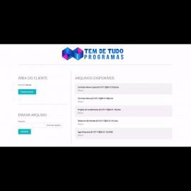 Sistema De Envio Troca De Arquivos Para Empresa Script Php