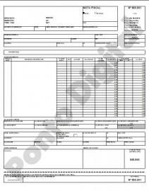 Planilha Para Imprimir Nota Fiscal Em A4