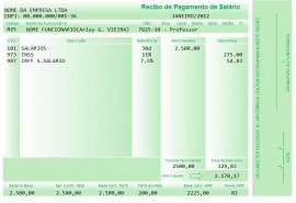 Recibo De Pagamento & Salário