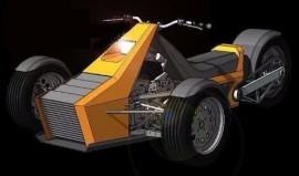 Projeto Triciclo Reverso Ou Invertido