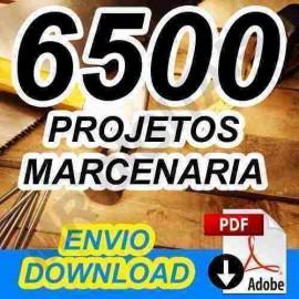 Kit 6500 Projetos Marcenaria Completo + Casas Madeiras