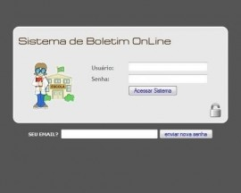 Script Php + Mysql De Boletim Escolar Online Versão 2.0