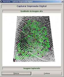 Código fonte em Visual Basic 6 do sistema Impressão Digital biometria