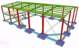 Projeto - Estrutura Metálica Completíssimo
