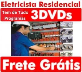 Instala��es! Cursos Instala��es El�tricas Residenciais 3dvds