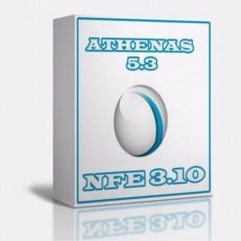 Athenas 5.3 + Nfe 3.10 + Nfce Sistema Comercial Com Fotes