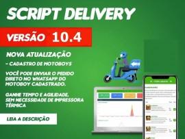 Script - Delivery Pizzaria Lanchonete Ifood Via Whatsapp Versão 10.3