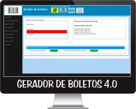 Sistema Gerador E Gerenciador Boletos 4.0 Com Retorn E Remesa